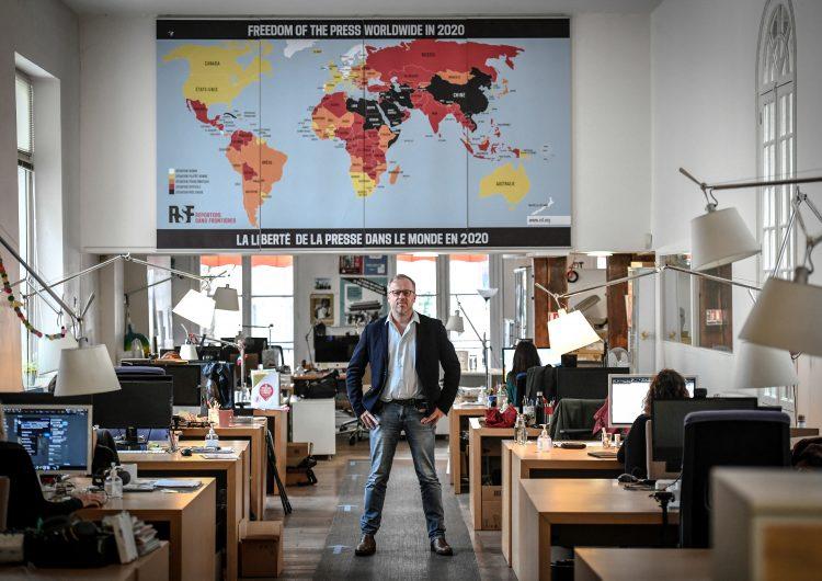 El periodismo está total o parcialmente bloqueado en el 73 % de los países: RSF