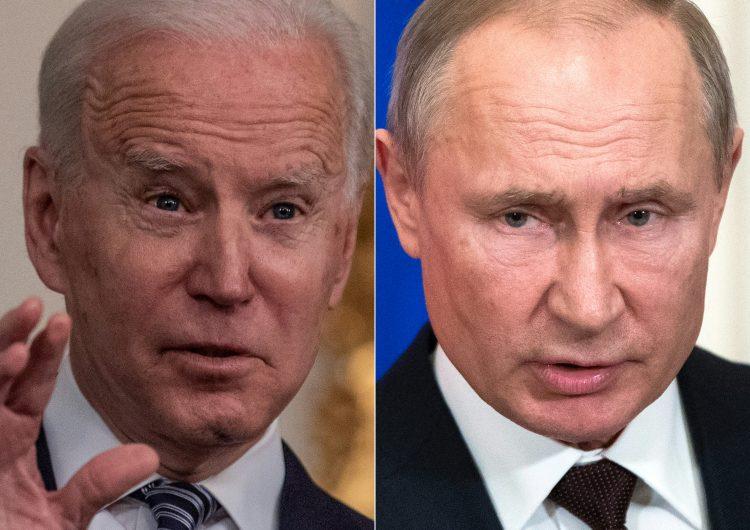 El Kremlin estudia la propuesta de Joe Biden para reunirse con Vladimir Putin