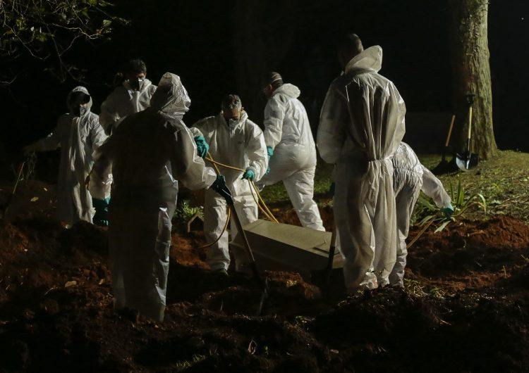 Ante 'dramática' situación, Brasil pide a la ONU entrega anticipada de vacunas contra COVID-19