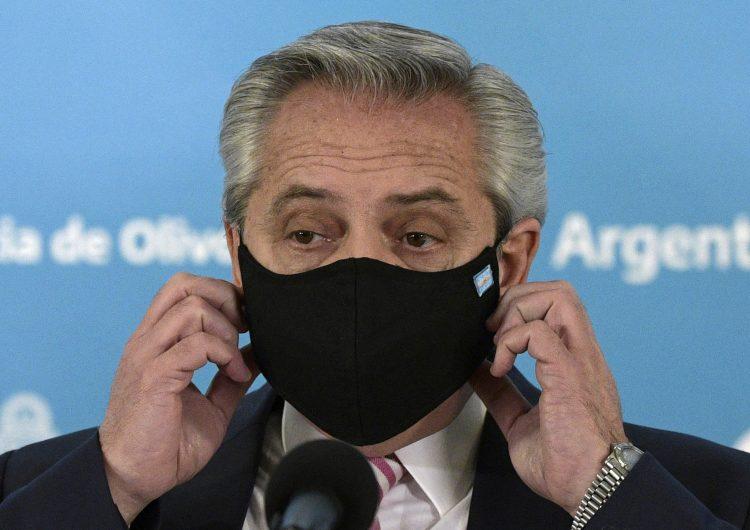 'Si no fuera por la vacuna la estaría pasando muy mal': Alberto Fernández tras contraer COVID-19