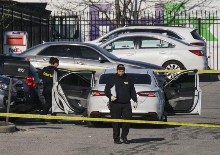 Ocho muertos en un tiroteo masivo en instalaciones de FedEx en Indianápolis