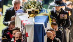 Así fue el funeral del príncipe Felipe, esposo de la…