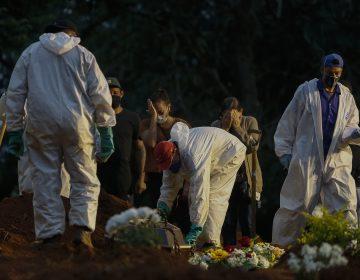 Brasil se convierte en país con la mayor tasa de mortalidad por covid-19 del continente americano