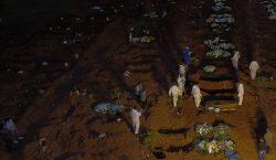 Entierros nocturnos: la nueva normalidad del mayor cementerio de América…