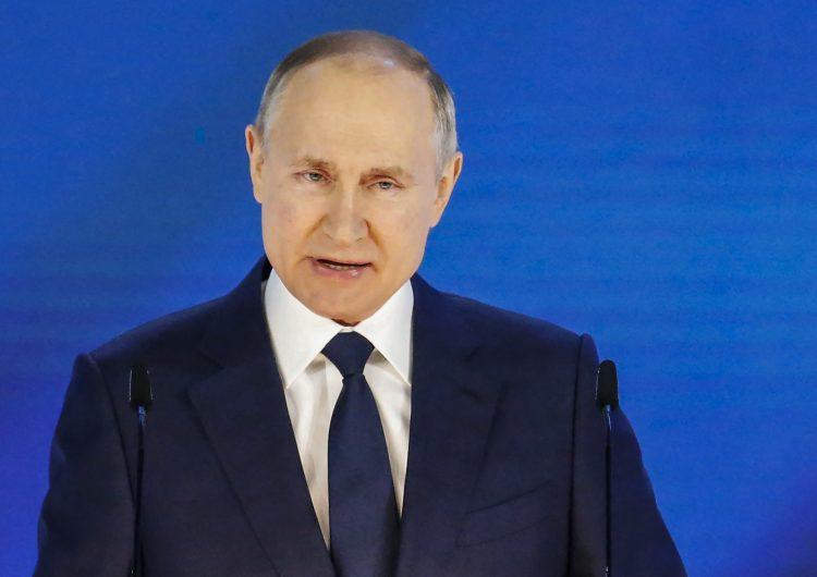 'No traspasen la línea roja', advierte Putin a sus rivales occidentales