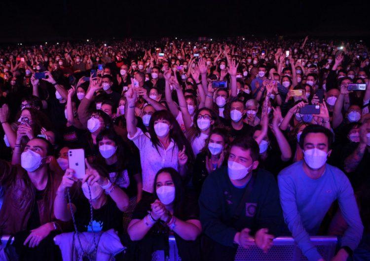 """""""Ninguna señal"""" de contagios tras un masivo concierto en Barcelona"""
