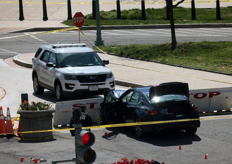 Policías matan al atacante del Capitolio de EU; se descarta acto terrorista