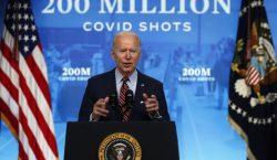 Estados Unidos logra aplicar 200 millones de dosis de vacunas…