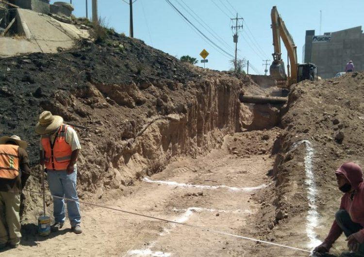 Cerrarán parcialmente Av. Guadalupe González por obras de colector sanitario