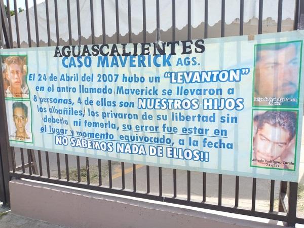 Desaparecidos del Caso Maverick: 14 años de lenta agonía