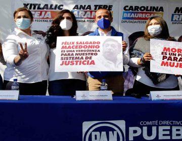 PAN Puebla sin candidatos acusados de violencia contra las mujeres: Genoveva Huerta