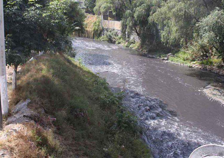 Con el Río Atoyac muerto Puebla celebra el Día de la Tierra