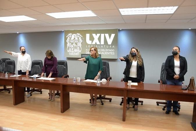 Se reconforma la Comisión del Transporte en el Congreso de Aguascalientes