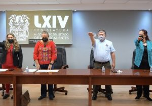 Diputados suplentes toman protesta en la Comisión de Fortalecimiento Municipal