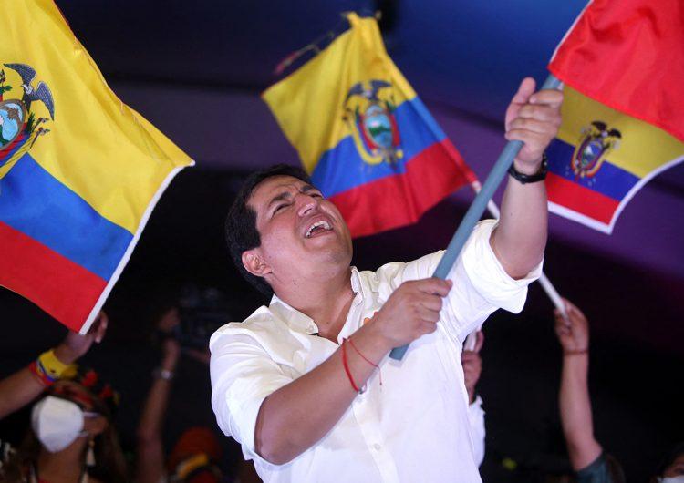 Elecciones en Ecuador: un socialista y un exbanquero conservador se disputan la silla presidencial