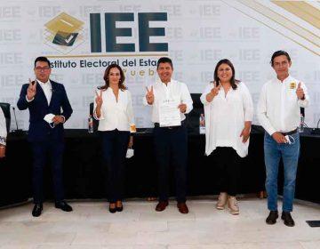 Eduardo Rivera ya es candidato a edil de Puebla