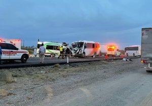 Mueren 16 personas en accidente de carretera en Sonora
