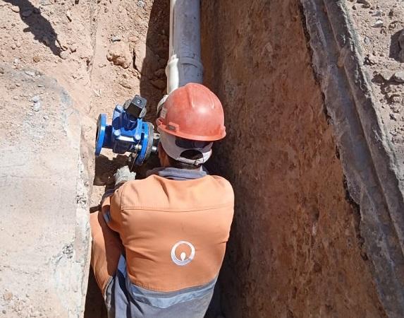 Realiza Veolia mantenimiento de red hidráulica en el sector oriente de Aguascalientes