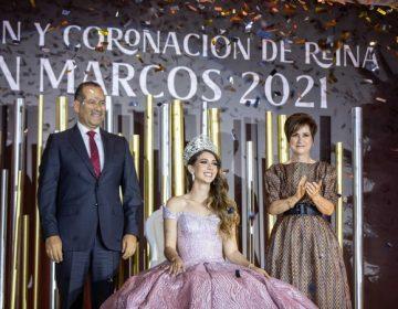 Coronan a Taydé I como reina de San Marcos 2021