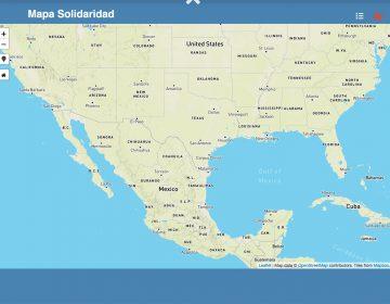 Nuevo mapa digital ayuda a migrantes a ubicar sitios de apoyo en México y EU
