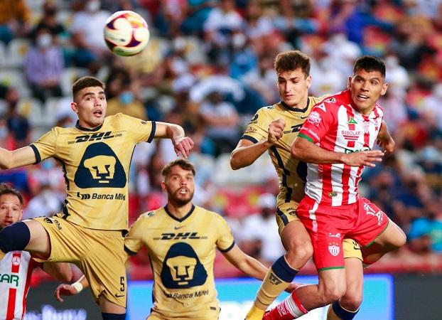 Perdona Necaxa a Pumas y termina perdiendo 1-0