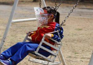 Niños poblanos piden que ya se vaya el Coronavirus
