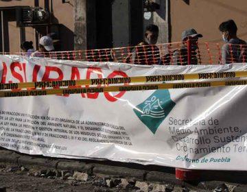 Beatriz Manrique: no tenían permiso para hacer las obras en el centro de Puebla
