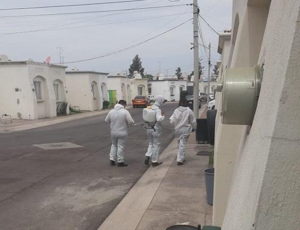 Alerta ISSEA por falsos sanitizadores en domicilios de Aguascalientes