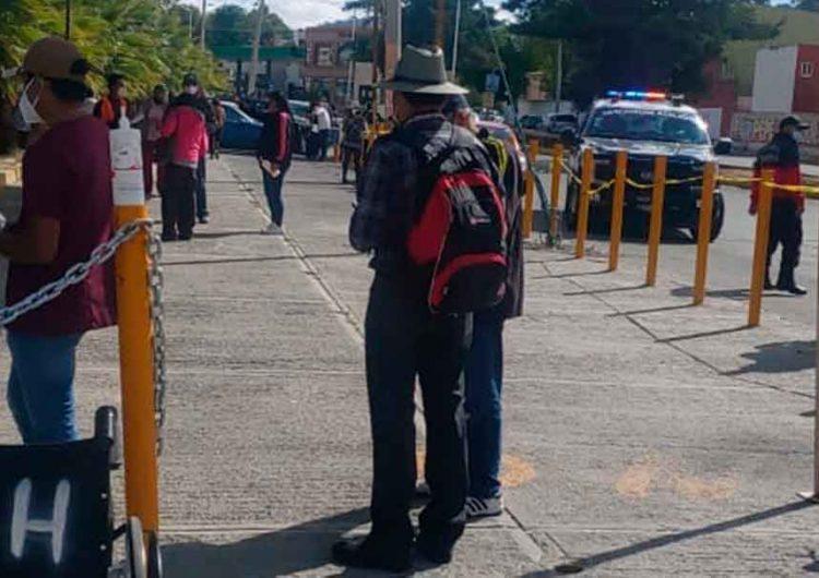Semivacíos los 19 puntos de vacunación en Puebla capital