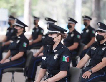 Se integran 106 nuevos elementos a la Policía Estatal de Aguascalientes