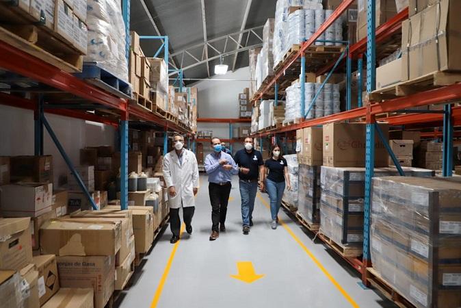 Supervisa gobernador almacen de medicamentos y área de transportes del ISSEA