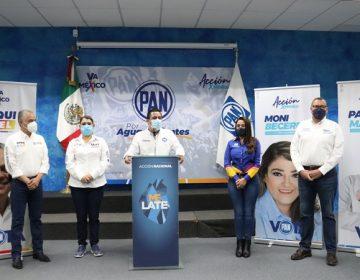 Arrancan campaña candidatos del PAN a diputados federales en Aguascalientes