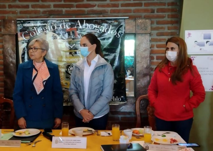 Urge nuevas estrategias de seguridad y prevención del delito: Lupita Jones
