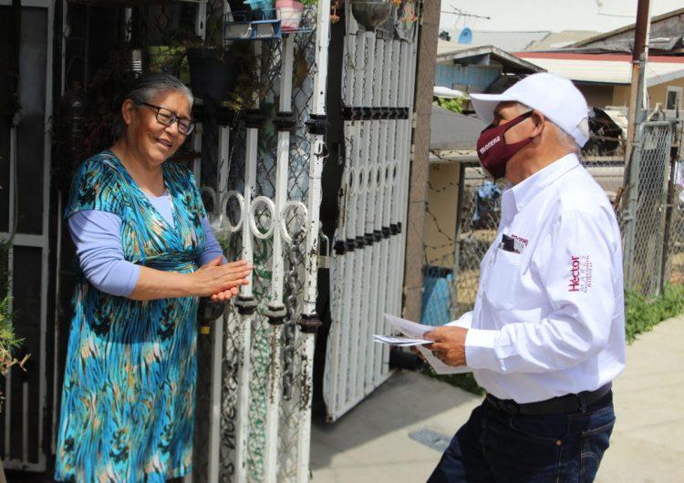 Se reúne Héctor Mares con miembros de pueblos originarios mixtecos y purépechas