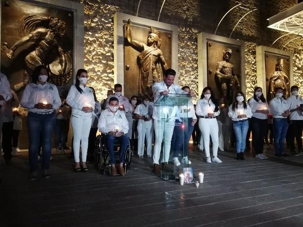 Arranca campaña del actor Ricardo Franco a la presidencia municipal de Aguascalientes