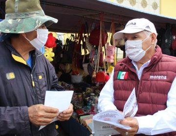 Comerciantes del distrito 06 piden a Héctor Mares frenar extorsiones