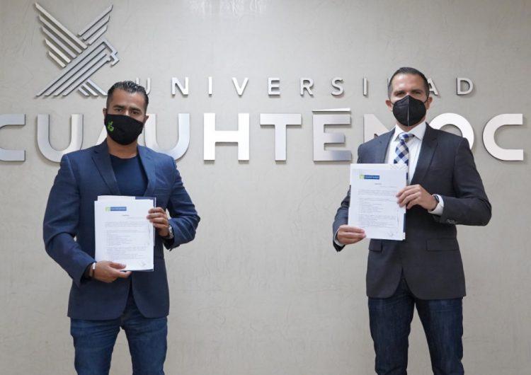Celebran firma de convenio UCA y trabajadores de Centenario Hospital Miguel Hidalgo.