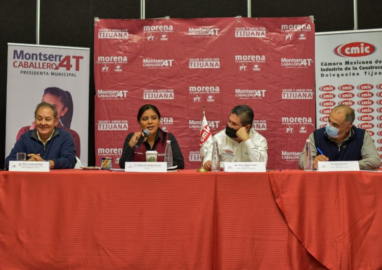 Exigiré para Tijuana presupuesto a la federación, promete Montserrat