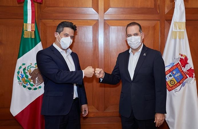Se reúne gobernador de Aguascalientes con embajador de México en Alemania