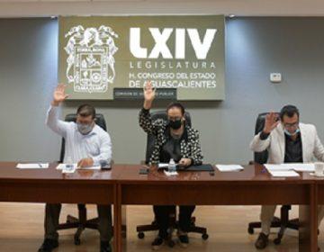 Se reintegra la Comisión de Seguridad Pública en el Congreso de Aguascalientes