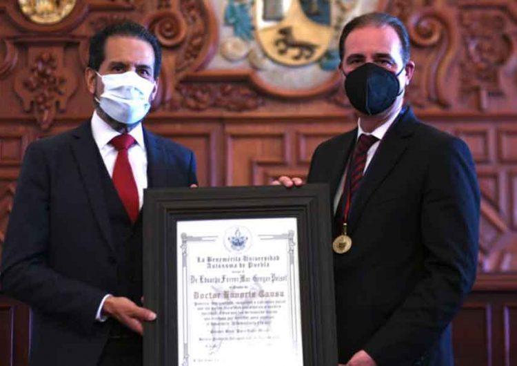 BUAP entrega Honoris Causa a Eduardo Ferrer Mac-Gregor