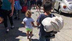 Niños migrantes en México aumentaron de 380 a casi 3,500…