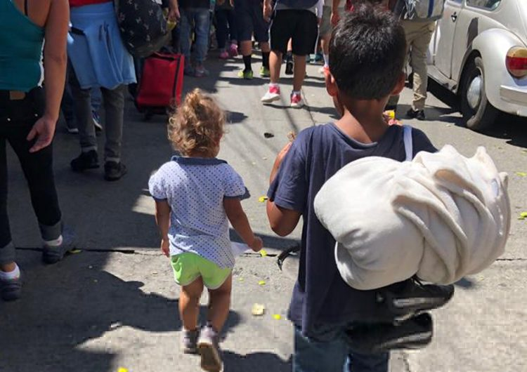Niños migrantes en México aumentaron de 380 a casi  3,500 en 2021: Unicef