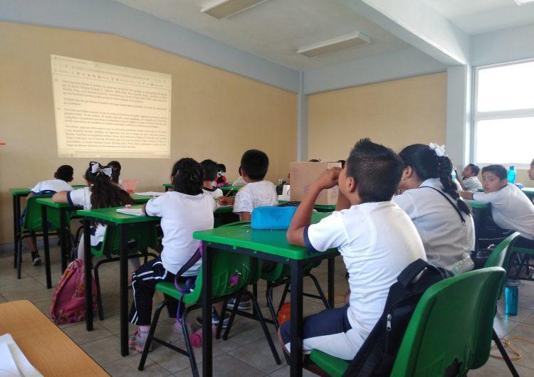 Vuelven a las aulas en Campeche