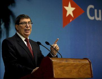 Si a EU le preocupa los derechos humanos, que 'levante el bloqueo', exige canciller cubano