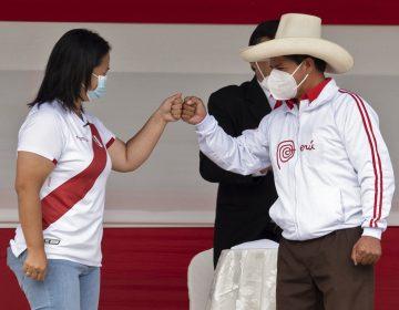 Elecciones Perú: Castillo y Fujimori debaten en una plaza de cara al balotaje presidencial