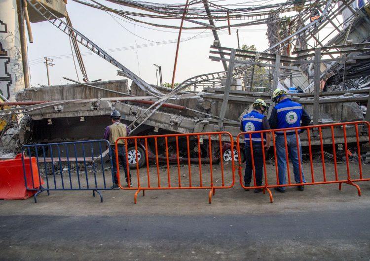 CDMX: empresa noruega ya inspecciona zona donde colapsó estructura del metro