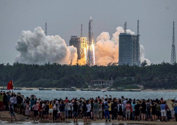 El Pentágono alerta sobre el reingreso a la atmósfera de un cohete chino fuera de control