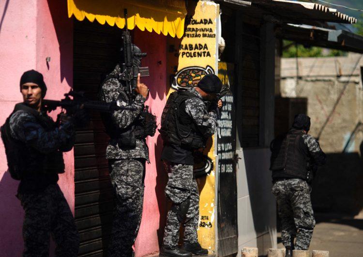 25 muertos en favela de Brasil, la masacre más grande desde 2016