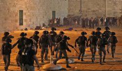Al menos 169 heridos en choques entre policía israelí y…